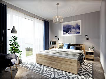 A photo of a Buddleia bedroom