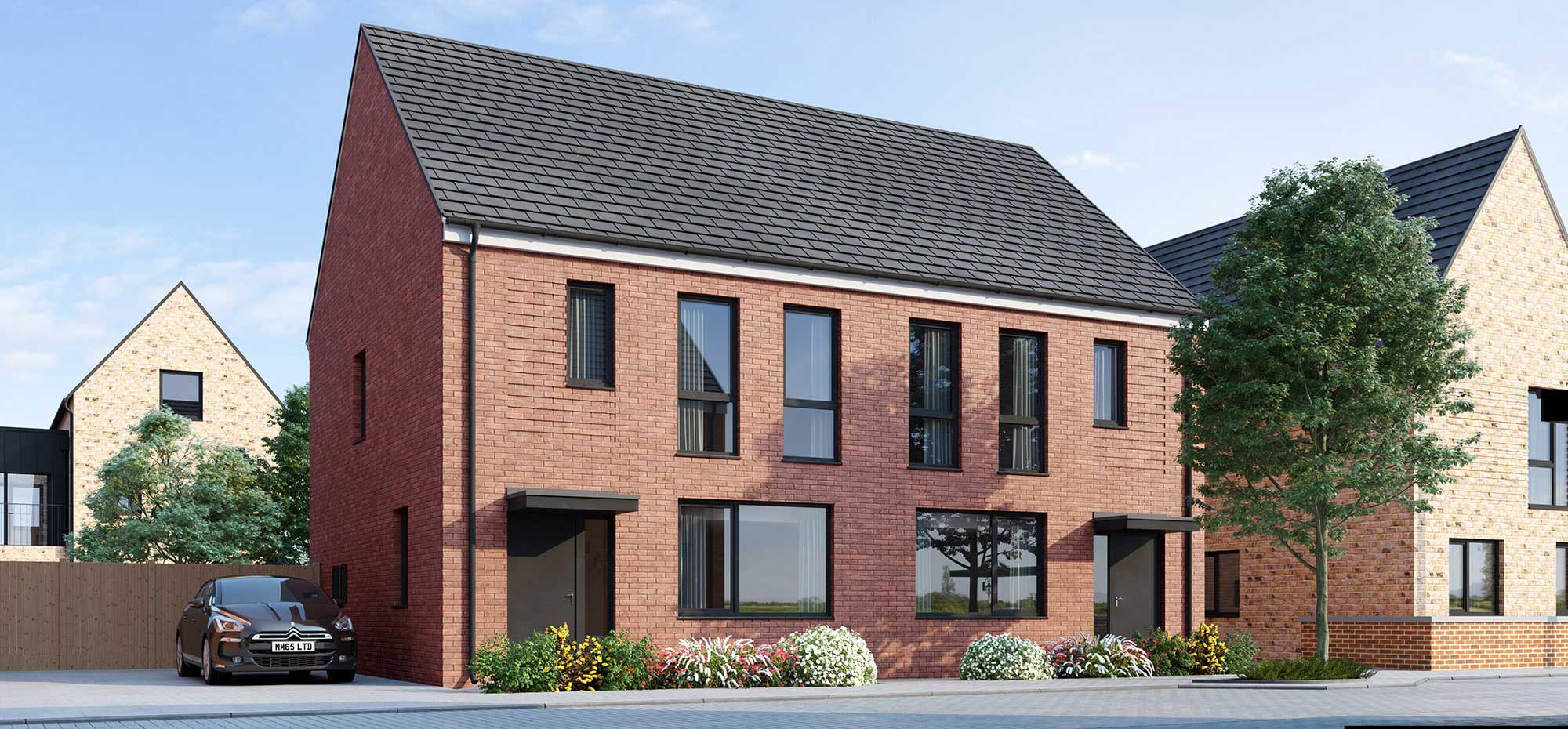 The Clover house from Shape Homes York.